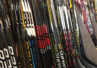 Big Selection of Hockey Sticks